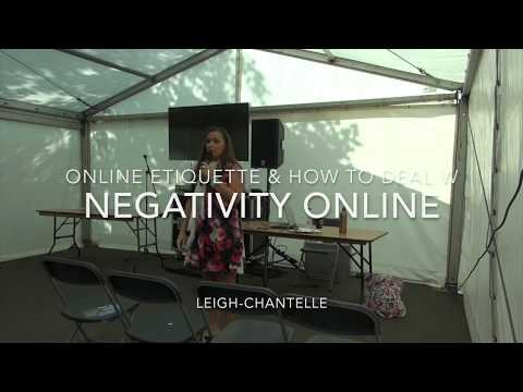 Online Etiquette & How to Deal with Negativity Online talk at VegFest UK Bristol 2017