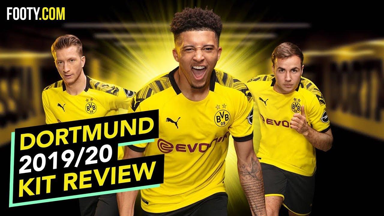 Borussia Dortmund 2019 20 Puma Home Shirt Kit Review Youtube