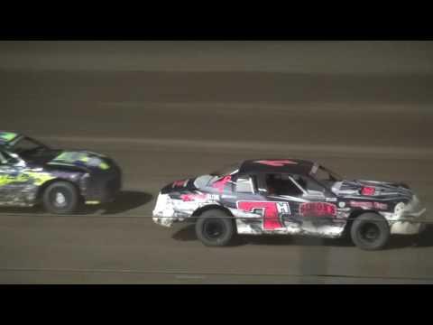 IMCA Stock Car feature Independence Motor Speedway 8/6/16