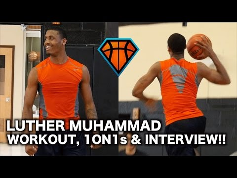 """Luther Muhammad Workout, 1on1 Sesh & Interview!! 