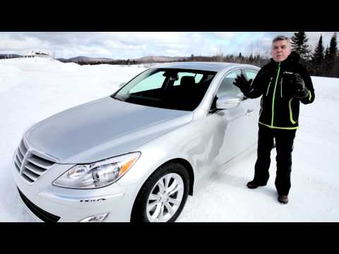 Hyundai Genesis Winter Driving Calgary Hyundai Explains