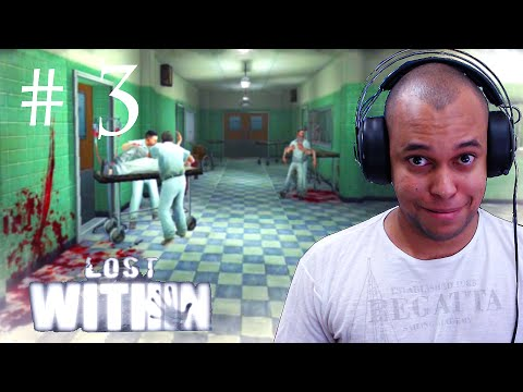 LOST WITHIN GAMEPLAY ANDROID ( NAS PAREDES ) - PARTE 3
