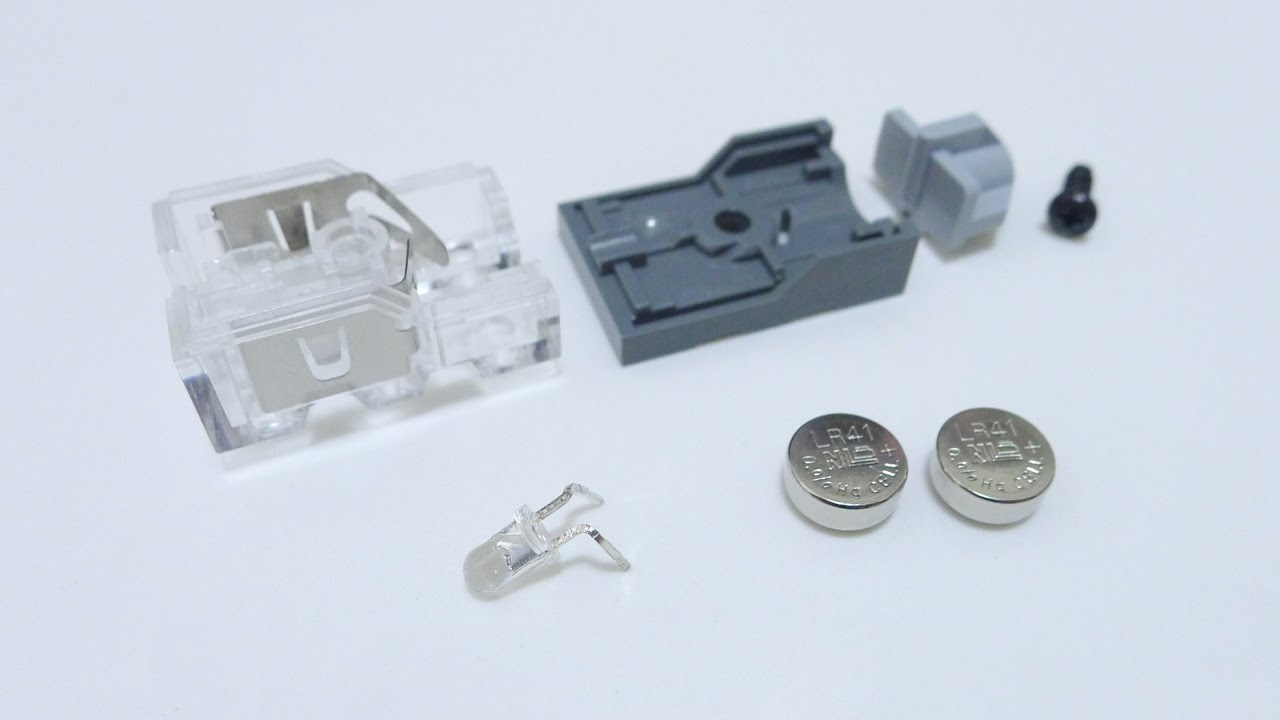 Lego Light Brick Internals And Color Led Replacement Youtube Changing Circuit Best