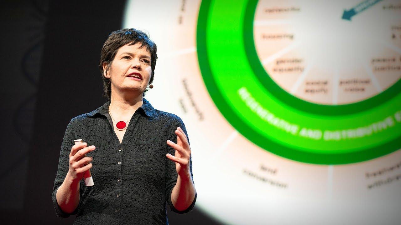 Una economía sana debe diseñarse para prosperar, no para crecer | Kate Raworth