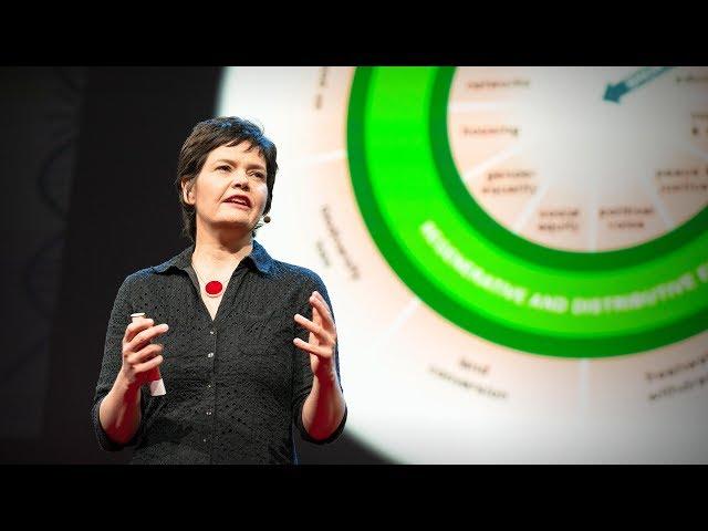 Una economía saludable debe estar diseñada para prosperar, no para crecer, Kate Raworth en TED