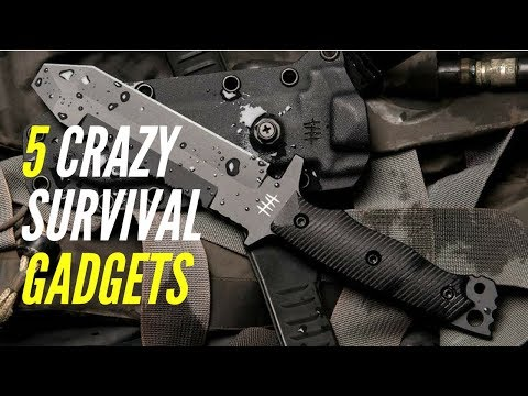 5 Best Survival Gadgets You Need In 2018 (LIFESAVING)