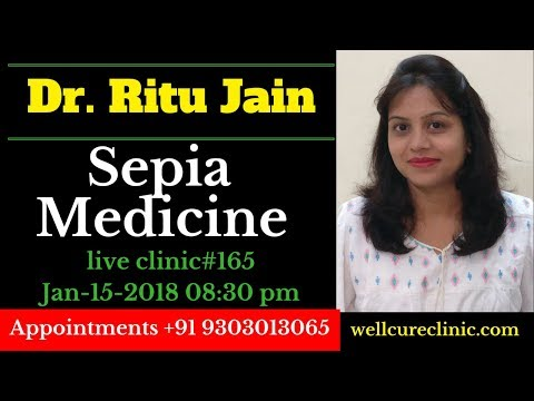 Sepia Homeopathic Medicine uses DrRitus  Clinic#165