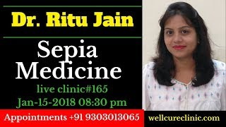 [22.23 MB] Sepia Homeopathic Medicine uses Dr.Ritu's Live Clinic#165