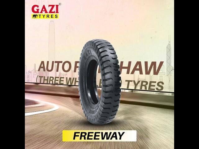 Gazi Auto Rickshaw Tyres