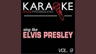 Such a Night (In the Style of Elvis Presley) (Karaoke with Background Vocal)