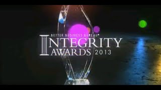 BBB Integrity Award video 2013