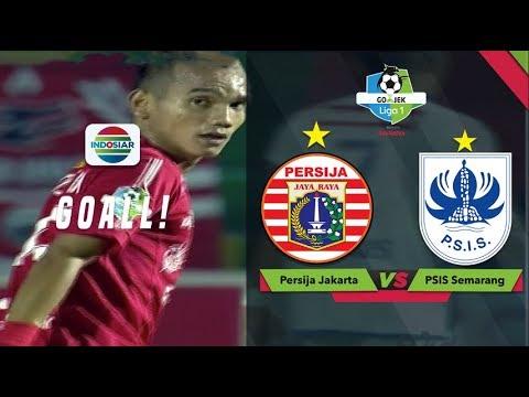 Gol Tendangan Melengkung Riko Simanjuntak - Persija (1) V PSIS (0) | Go-Jek Liga 1 Bersama Bukalapak