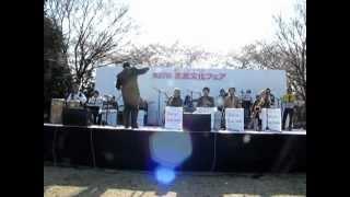 2012年4月8日 所沢市文化フエア 所沢ビッグ・フェロー・ジャズオーケス...