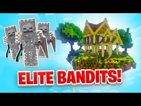 HUNTING ELITE BANDITS! - Minecraft SKYBLOCK #8