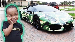 SURPRISING MY FAMILY WITH A NEW LAMBORGHINI | THE PRINCE FAMILY