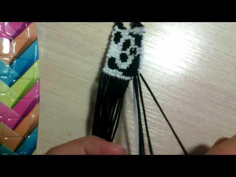 #2 фенечка прямого плетения