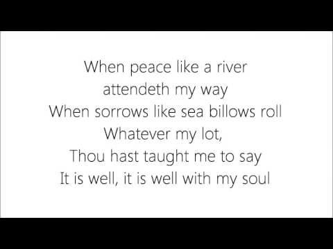 It Is Well - The Sisters (with lyrics)