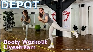 DEPOT Booty Workout Livestream