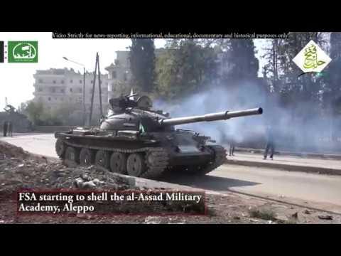 Syrien-Krieg - Schlacht