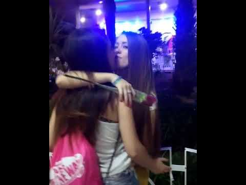 Girls caught on camera kissing from YouTube · Duration:  52 seconds