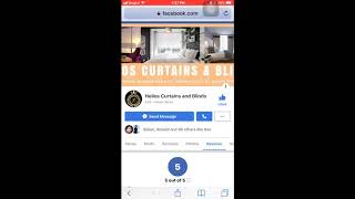 Using Mobile Phone to write REVIEW on FACEBOOK