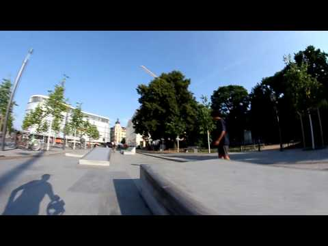 Paulo Deubner Treflip Practice