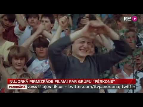 """Ņujorkā pirmizrāde filmai par grupu """"Pērkons"""""""