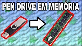 Como transformar um pen drive em Memória RAM