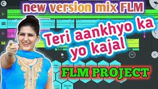 DJ Raj kamal basti Teri aakhya ka yo kajal DJ song flm