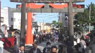 平成22年 竹駒神社 秋季大祭 小神輿巡幸 thumbnail