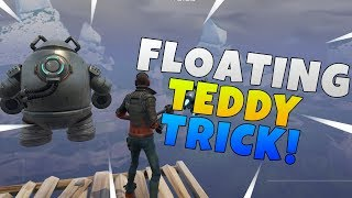 Floating Teddy Glitch In Fortnite Save The World | Fortnite Glitches