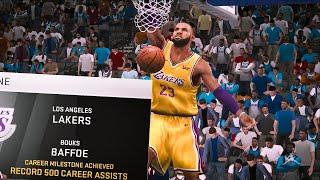 NBA 2K20 Mobile My Career Ep 39 - Assist Record Broken! 10+ Lobs!!