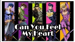 [AMV] Jojo's Bizarre Adventure | Can You Feel My Heart