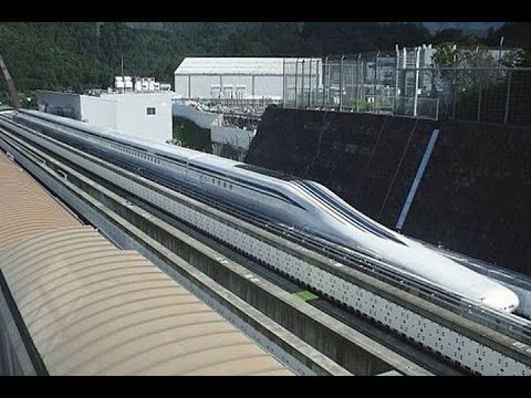 Un tren bala japonés bate el récord de velocidad