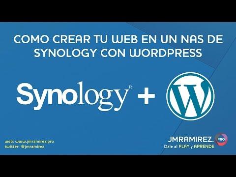 Como crear tu web en un NAS de Synology con WordPress