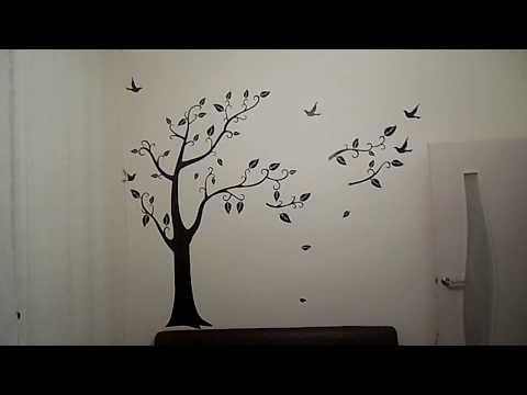 ДЕКОР НА СТЕНУ(рисунок или трафарет на стену)ДЕРЕВО....