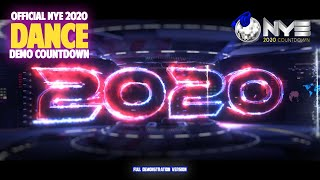 NYE Countdown 2020 DANCE VIDEO DEMO VERSION HD