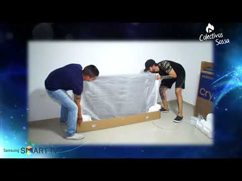 UNBOXING EN ESPAÑOL 2020 SAMSUNG TU7000 Crystal UHD TV