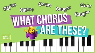 Less Common 7 Chords - Hoffman Academy Music Notes