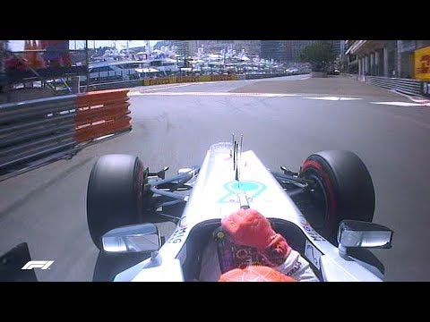 "Michael Schumacher Takes Final ""Pole Position"" | 2012 Monaco Grand Prix"
