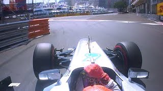 "Michael Schumacher Takes Final ""Pole Position"" 
