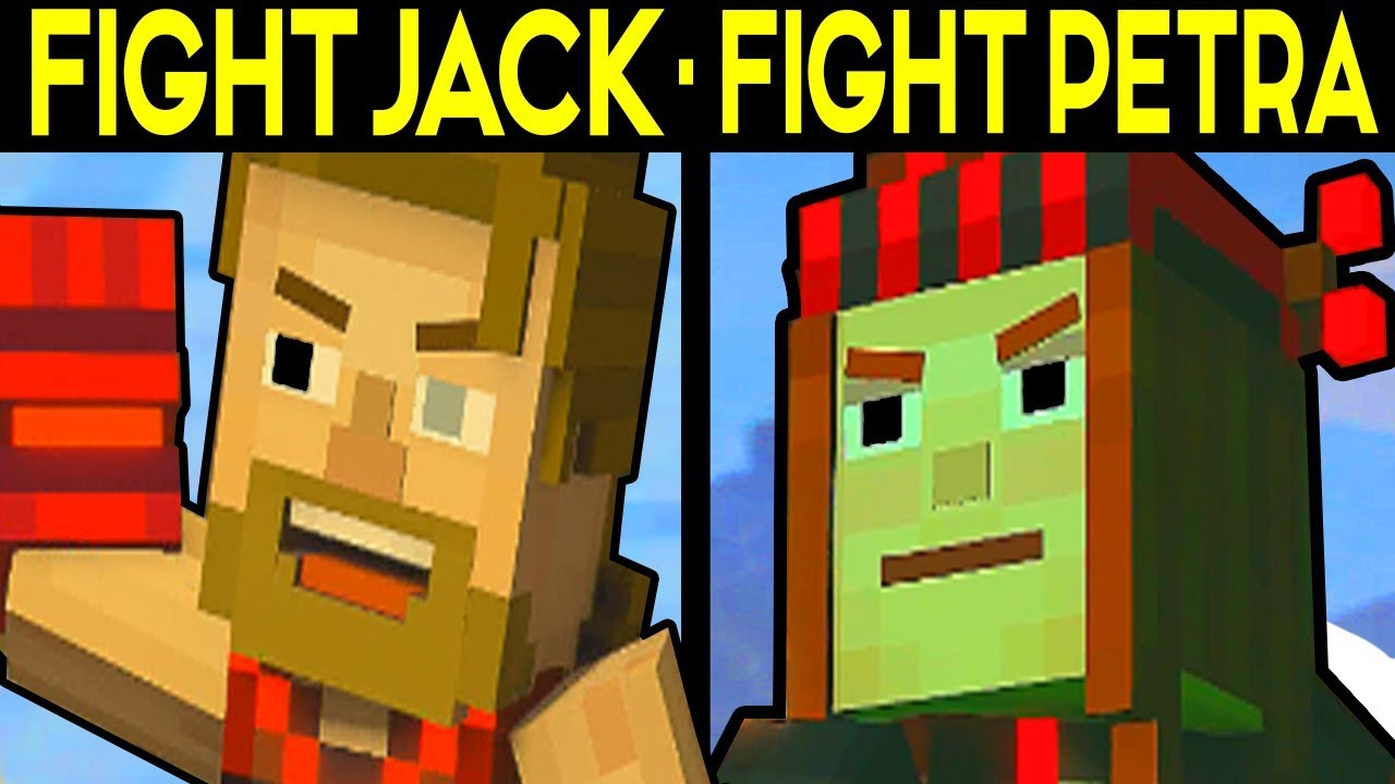 Fight Jack Or Fight Petra Minecraft Story Mode Season 2 Episode