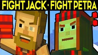 FIGHT JACK or FIGHT PETRA! - Minecraft Story Mode Season 2 Episode 3 Alternative Choices