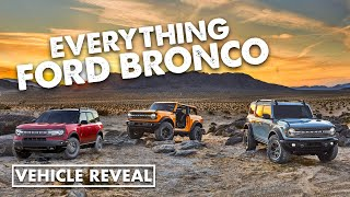 2021 Ford Bronco supercut - all the video footage just revealed by Ford