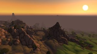 World of Warcraft: Warlords of Draenor Nagrand Zone Flythrough
