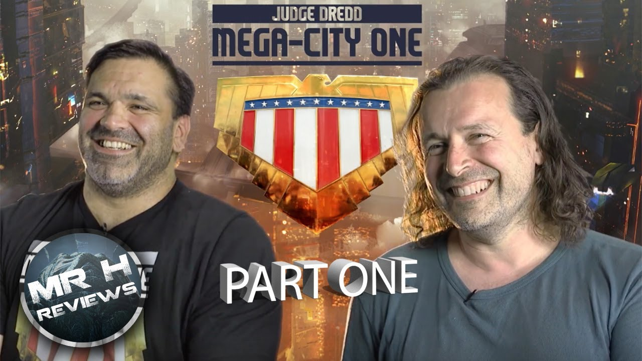 Dredd TV Show Interview (Part One)