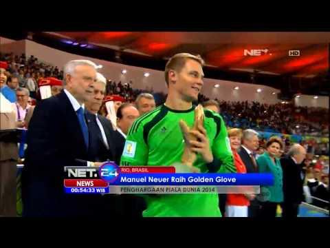 Fifa berikan penghargaan bagi pemain terbaik di Piala Dunia 2014 - NET24