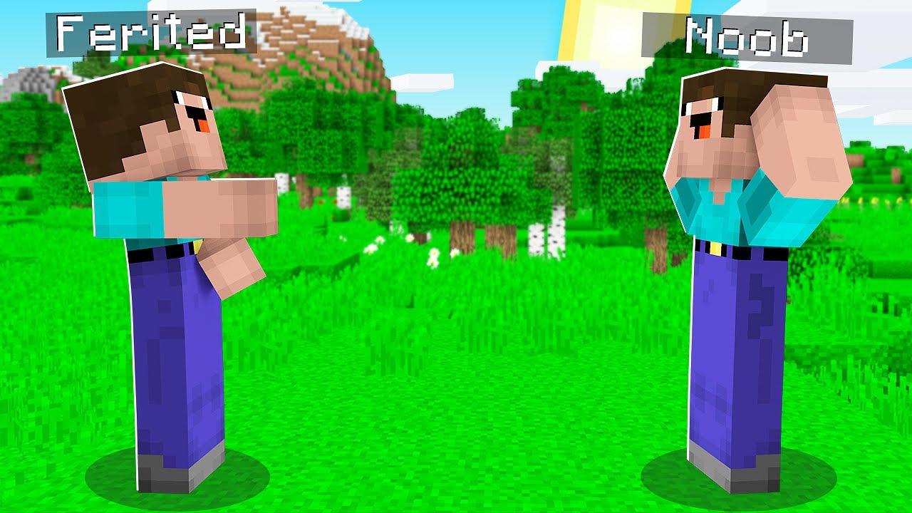 NOOB'UN İKİZİ OLUP NOOB'U TROLLEDİM! 😱 - Minecraft