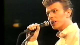 David Bowie - Suffragette City, Austin 1990