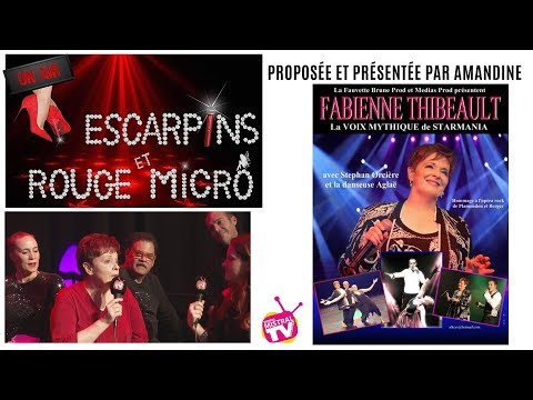 Escarpins & rouge micro    Fabienne Thibeault, Stéphan et Aglaé